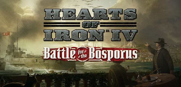 Hearts of Iron IV: Battle for the Bosporus - Cover / Packshot