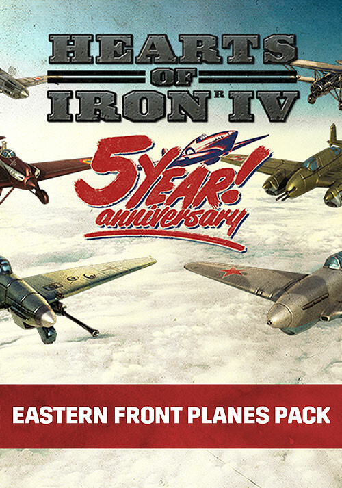 Hearts of Iron IV: Eastern Front Planes Pack - Cover / Packshot