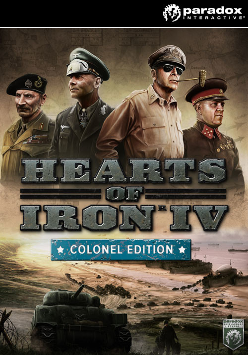 Hearts of Iron IV: Colonel Edition - Cover / Packshot