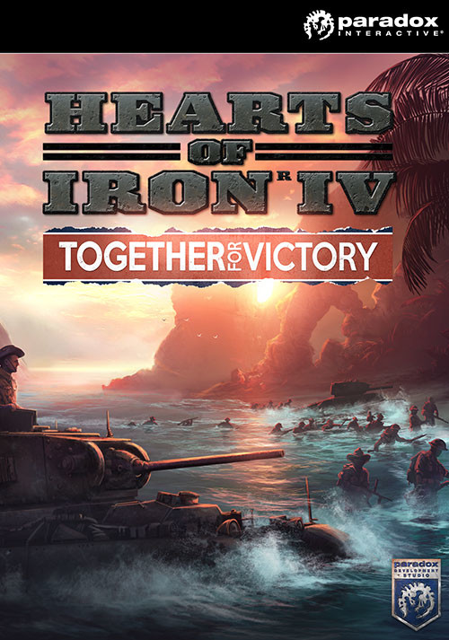 Hearts of Iron IV: Together For Victory - Cover