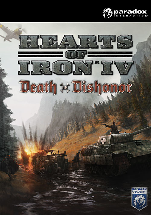 Hearts of Iron IV: Death or Dishonor - Packshot