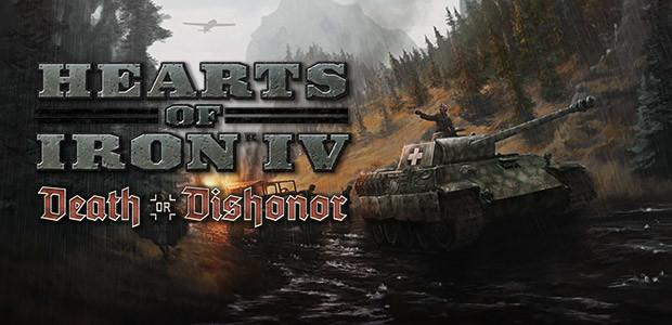 Hearts of Iron IV: Death or Dishonor - Cover / Packshot