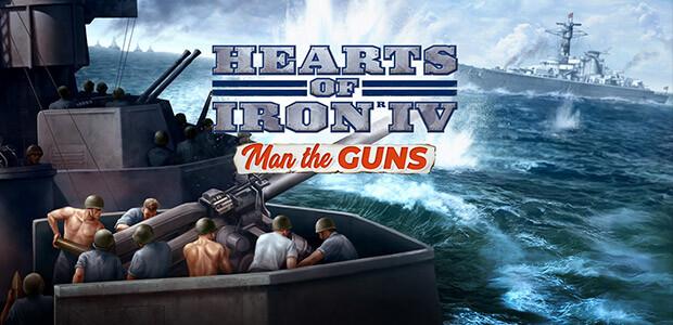 Hearts of Iron IV: Man the Guns - Cover / Packshot