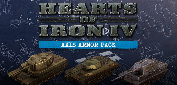 Hearts of Iron IV: Axis Armor Pack - Cover / Packshot