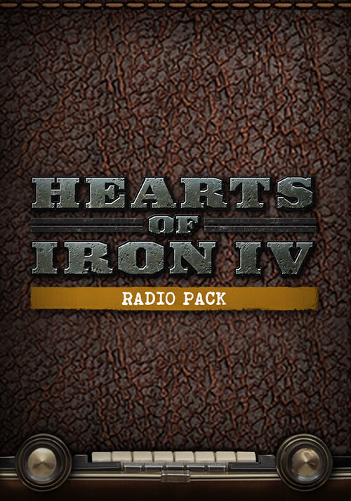 Hearts of Iron IV: Radio Pack - Cover