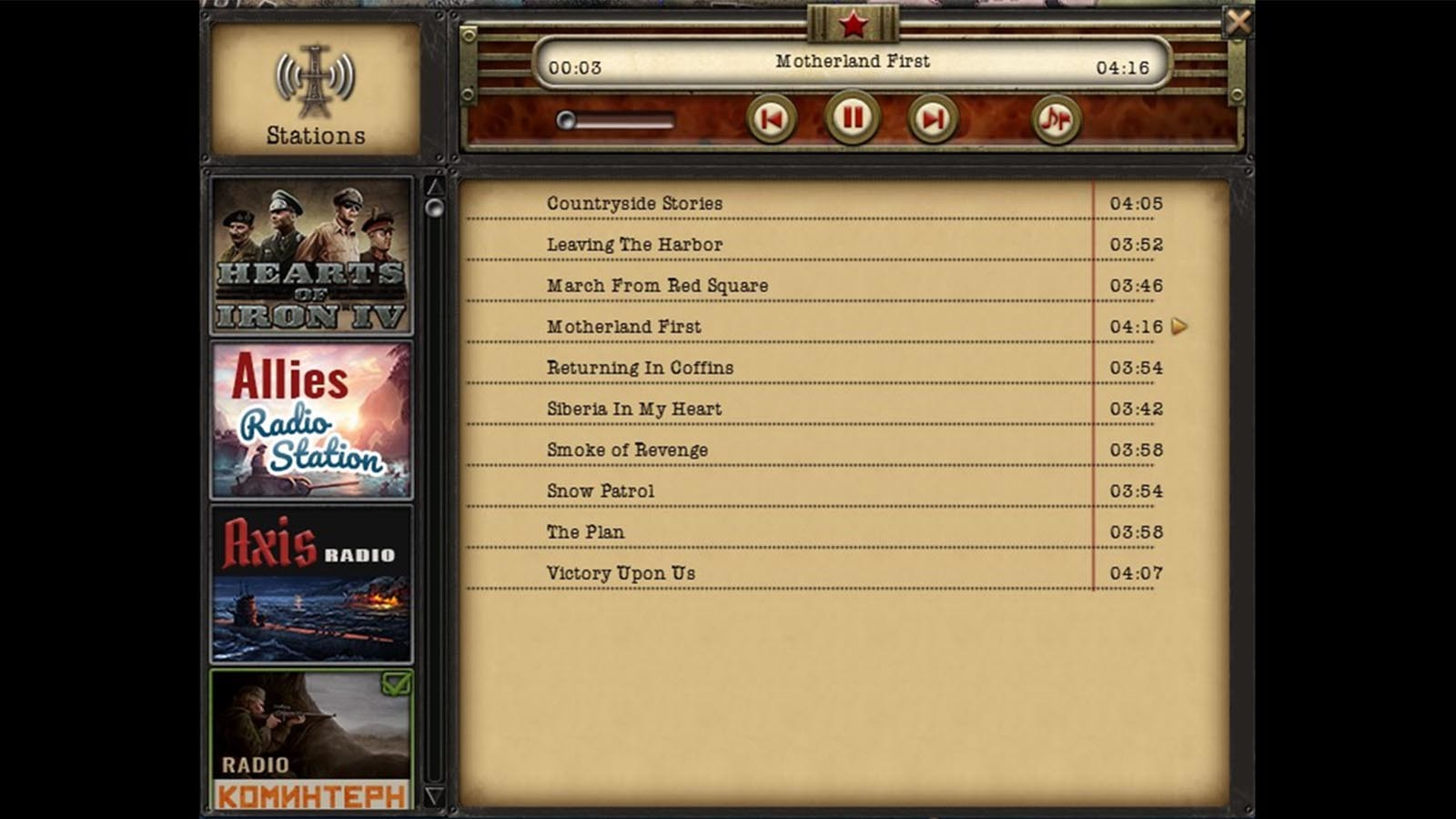 Hearts of iron iv: radio pack for macbook pro