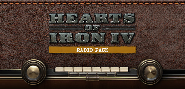 Hearts of Iron IV: Radio Pack - Cover / Packshot