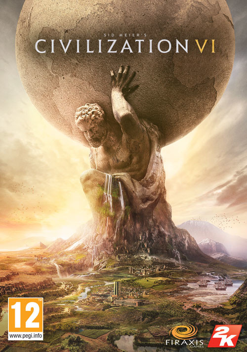 Sid Meier's Civilization VI  - Cover / Packshot