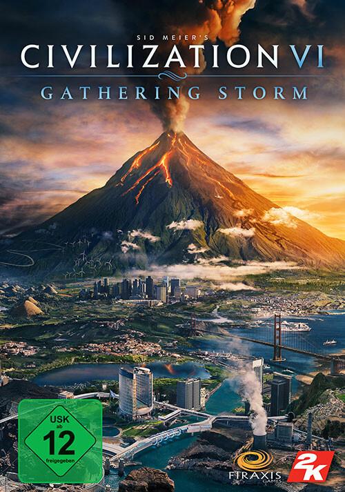 Sid Meier's Civilization VI: Gathering Storm - Cover