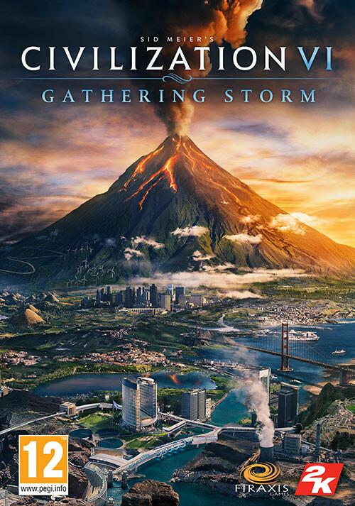 Sid Meier's Civilization VI: Gathering Storm - Cover / Packshot