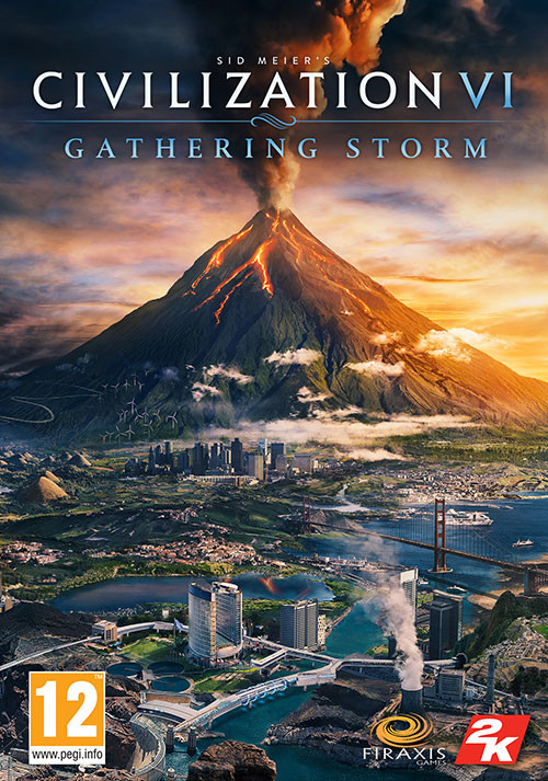 Sid Meier's Civilization VI: Gathering Storm - Cover