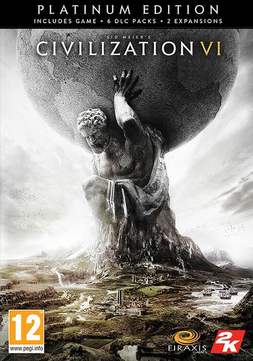Sid Meier's Civilization VI: Platinum Edition - Cover / Packshot