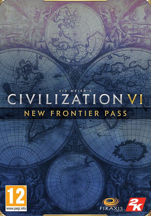 Sid Meier's Civilization VI - New Frontier Pass - Cover / Packshot