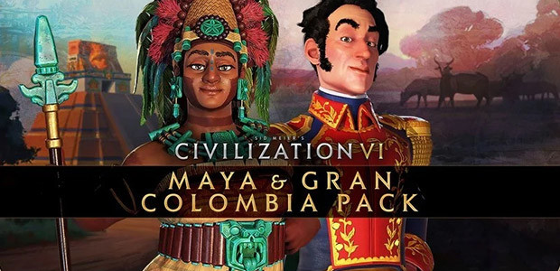 Sid Meier's Civilization VI: Maya & Gran Colombia Pack  - Cover / Packshot