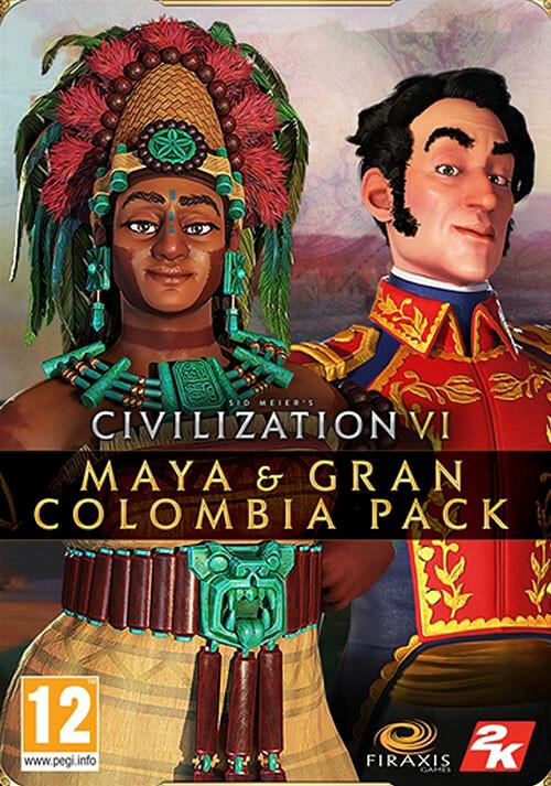 Civilization VI - Maya & Gran Colombia Pack  - Cover / Packshot