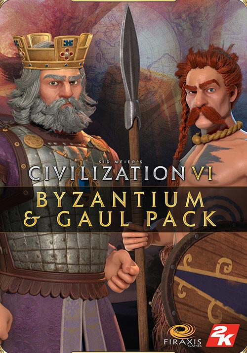 Sid Meier's Civilization VI: Byzantium & Gaul Pack - Cover / Packshot