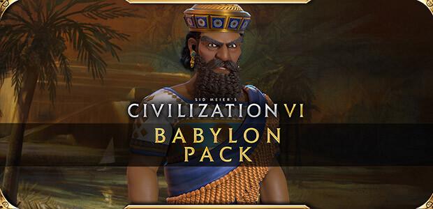Sid Meier's Civilization VI - Babylon Pack - Cover / Packshot