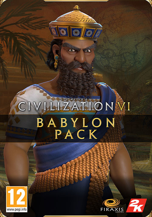 Sid Meier's Civilization VI - Babylon Pack - Cover / Packshot