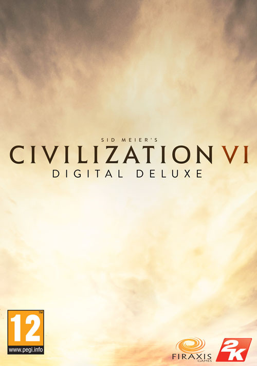 Sid Meier's Civilization VI - Digital Deluxe - Packshot