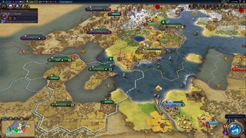 Screenshot1 - Civilization VI - Vikings Scenario Pack