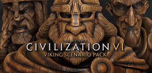 Sid Meier's Civilization VI:Vikings Scenario Pack - Cover / Packshot