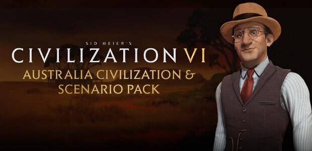 Sid Meiers Civilization VI: Australia Civilization & Scenario Pack - Cover / Packshot