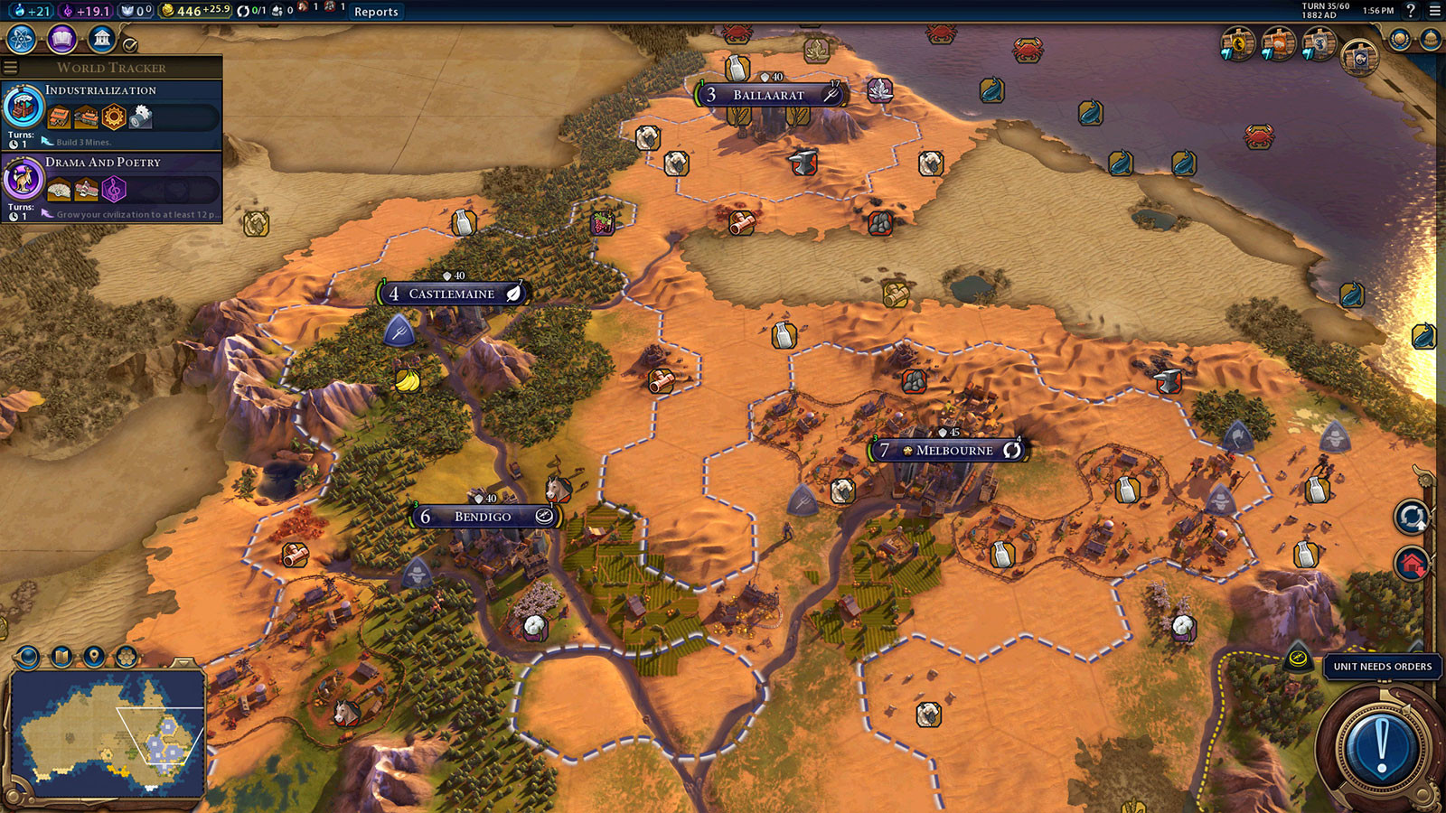 how to get order civ 5