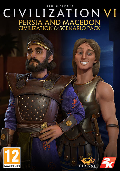 Sid Meier's Civilization VI - Persia and Macedon Civilization & Scenario Pack - Packshot
