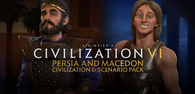 Sid Meier's Civilization VI - Persia and Macedon Civilization & Scenario Pack - Cover / Packshot