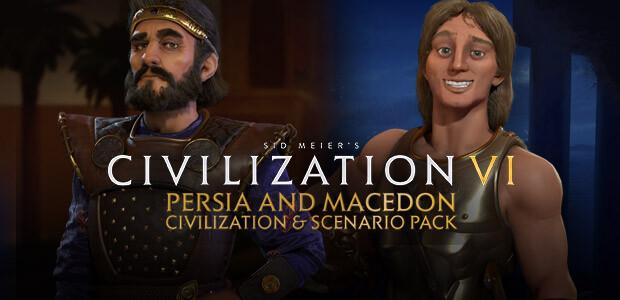 Sid Meier's Civilization VI - Persia and Macedon Civilization & Scenario Pack - Cover / Packshot