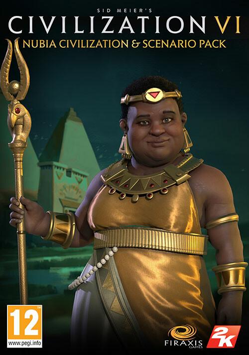 Sid Meiers Civilization VI: Nubia Civilization & Scenario Pack  - Cover