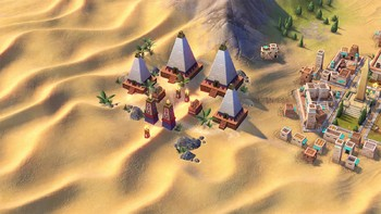 Screenshot2 - Sid Meiers Civilization VI: Nubia Civilization & Scenario Pack