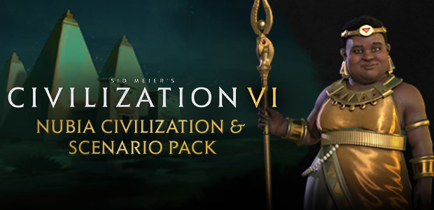 Sid Meiers Civilization VI: Nubia Civilization & Scenario Pack  - Cover / Packshot