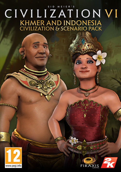 Sid Meier's Civilization VI - Khmer and Indonesia Civilization & Scenario Pack  - Packshot
