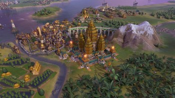 Screenshot1 - Sid Meier's Civilization VI - Khmer and Indonesia Civilization & Scenario Pack