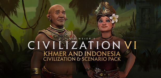 Sid Meier's Civilization VI: Khmer and Indonesia Civilization & Scenario Pack  - Cover / Packshot