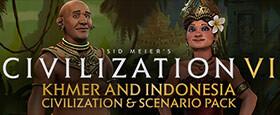 Sid Meier's Civilization VI: Khmer and Indonesia Civilization & Scenario Pack
