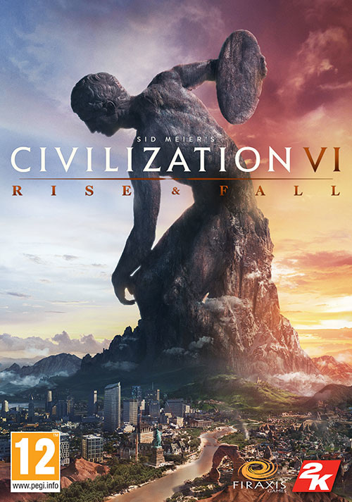 Sid Meier's Civilization VI: Rise and Fall - Cover