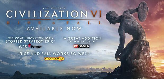 Sid Meier's Civilization VI: Rise and Fall - Cover / Packshot