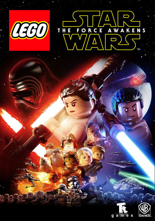LEGO Star Wars: The Force Awakens - Cover / Packshot