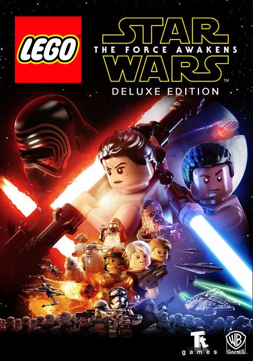 LEGO Star Wars: The Force Awakens - Deluxe Edition - Cover