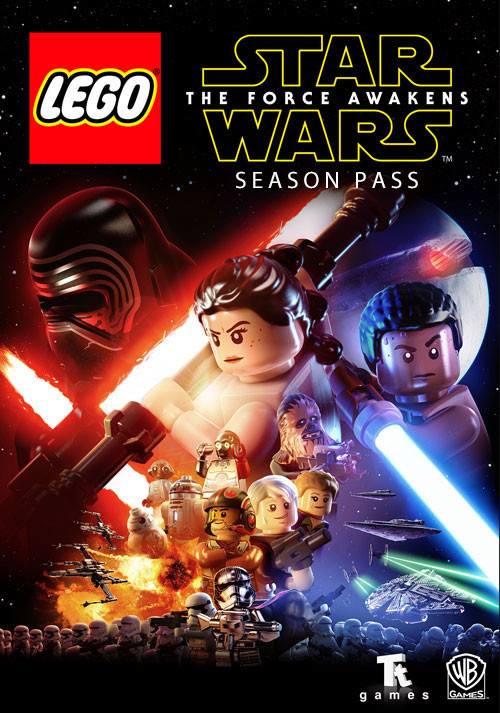 LEGO Star Wars: The Force Awakens - Season Pass - Cover / Packshot