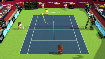 Screenshot1 - Smoots World Cup Tennis