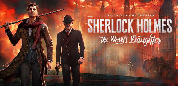 Sherlock Holmes: The Devil's Daughter - Cover / Packshot