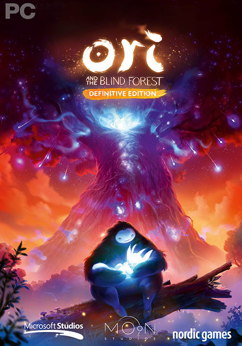 Ori and the Blind Forest: Definitive Edition - Cover