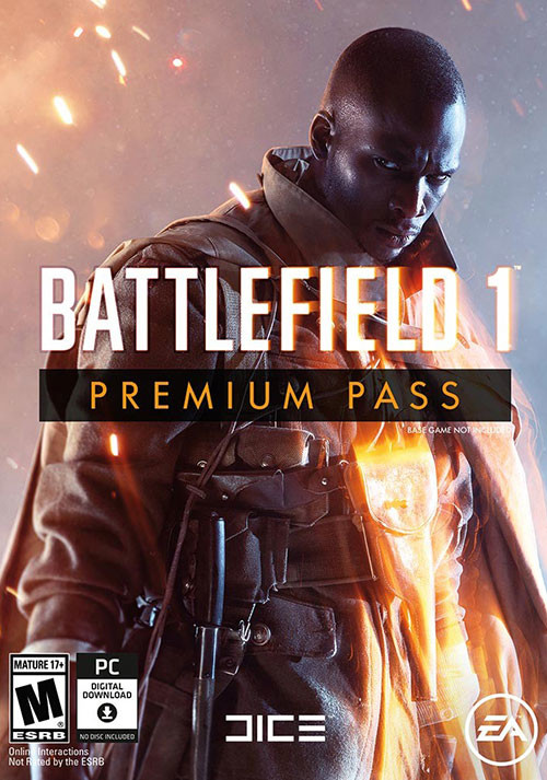 Battlefield 1 Premium Pass - Cover / Packshot