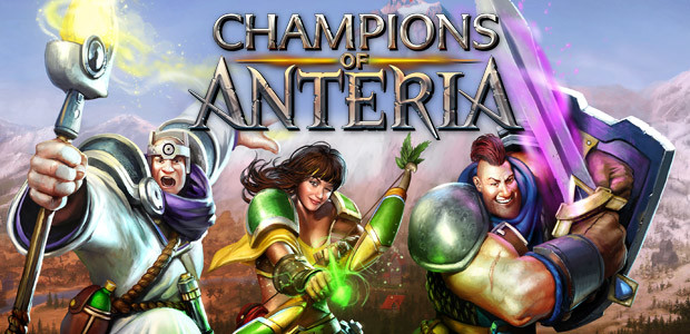 Champions of Anteria - Cover / Packshot