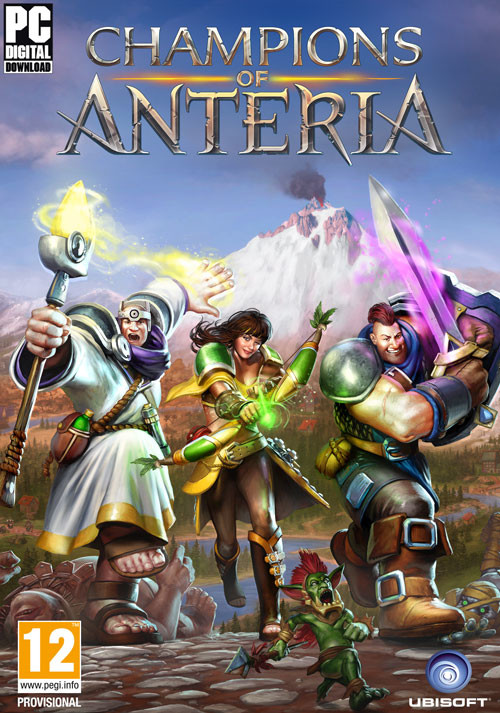 Champions of Anteria - Packshot