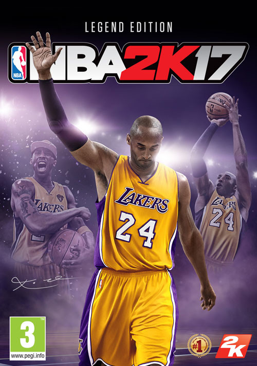 NBA 2K17 Legend Edition - Packshot