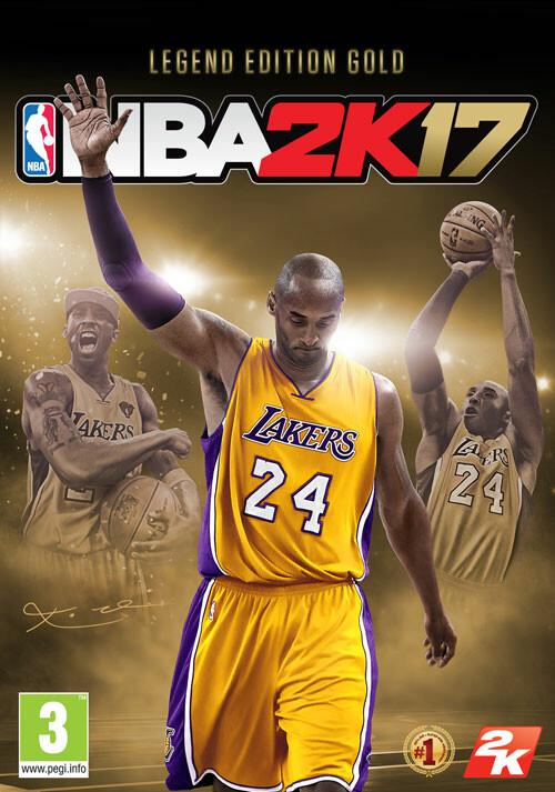 NBA 2K17 Legend Edition Gold - Packshot